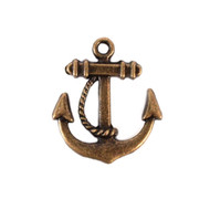 Antique Boat Anchor Charm (Set of 12)