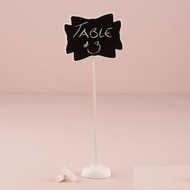 Tall Decorative Chalkboard with Stand