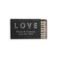 Love Shadows Personalized Classic Matchbox (Set of 50)