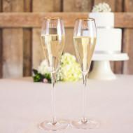 Mr. & Mrs. Gatsby Champagne Flute Set