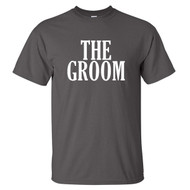 The Groom T-Shirt {Block Font}