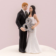 Mr. & Mrs. with Ampersand Cake Topper