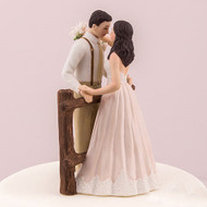 Rustic Couple Cake Topper