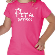 Petal {with Mouse Ears} Patrol Tee | Flower Girl T-Shirt