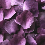 Grape Silk Petals {Package of 100}