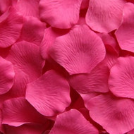 Hot Pink Silk Petals {Package of 100}