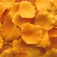 Marigold Silk Petals {Package of 100}