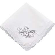 """For Happy Tears"" Handkerchief"