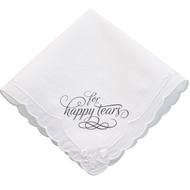 """For Happy Tears"" Handkerchief"