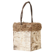 Petite Birch Flower Basket