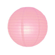 Pastel Pink Round Paper Lantern