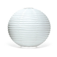 White Round Paper Lantern