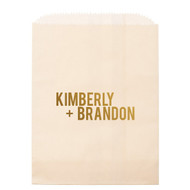 Bold Names Personalized Candy Bag