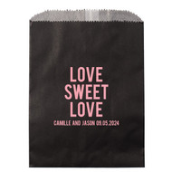 LOVE SWEET LOVE Personalized Candy Bag