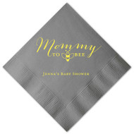 Mommy To Bee Personalized Baby Shower Napkins (Pack of 100)