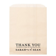 THANK YOU For Being A Part Of Our Special Day Personalized Candy Bag