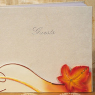 Fall in Love Splendid Autumn Guest Book