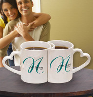 Personalized Initial Mugs (Set of 2)