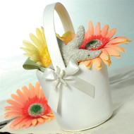 Beach Collection Flower Girl Basket