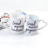 Good Morning Coffee Mugs (Set of 2)