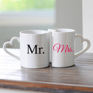 Mr. and Mrs. Coffee Mug Set