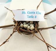Miniature Birds Nest Vine Place Card Holder