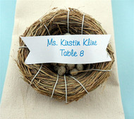 Miniature 3-Inch Birds Nest Place Card Holder