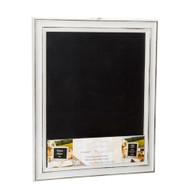 White Wash Chalkboard Frame with Easel Back