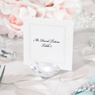 Acrylic Diamond-Shaped Placecard Holder (Set of 6)