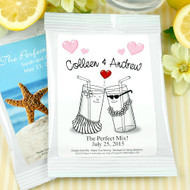 Personalized Lemonade Drink Mix Favor