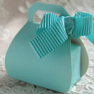 Purse Favor Box in Several Colors (Set of 10)