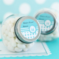 Something Blue Personalized Candy Jars