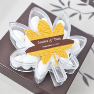 """Fall for Love"" Leaf Acrylic Boxes"