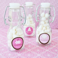 Theme Personalized Mini Glass Bottles