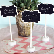 Framed Chalkboard Place Card Stand