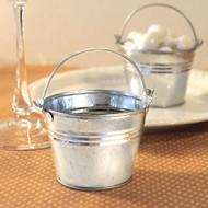 Miniature Galvanized Tin Pail