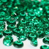 Diamond Confetti in Emerald (1000 Pieces)