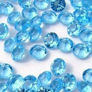 Diamond Confetti in Light Blue (1000 Pieces)