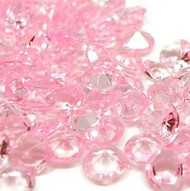 Diamond Confetti in Light Pink (1000 Pieces)