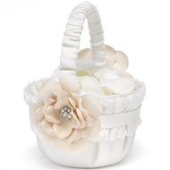 Love Blooms Flower Basket