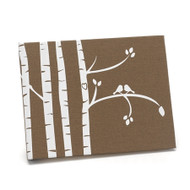 Love Birds and Birch Trees Guest Book