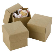 DIY Kraft Two-Piece Favor Box (Set of 25)