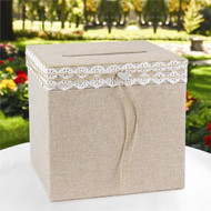 Rustic Romance Card Box