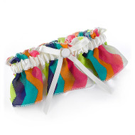 Chevron Stripe Garter