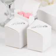 Mr. & Mrs. Prism Favor Boxes (Pack of 25)