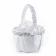 Bling Flower Girl Basket
