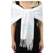 Matron of Honor White Pashmina
