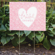 Bridal Shower Yard Sign