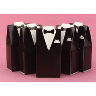 Brown Tuxedo Favor Boxes (Set of 25)