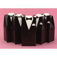 Brown Tuxedo Favor Boxes (Set of 25)
